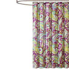 Paisley Shower Curtain Paisley Shower Curtains For Bed U0026 Bath Jcpenney