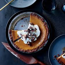 thanksgiving pumpkin pies food wine