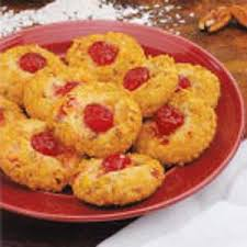 cherry crunch cookies recipe taste of home