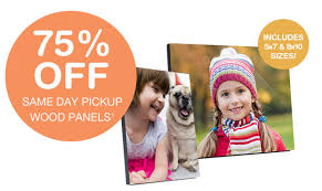 last day walgreens 75 off wood picture panels starting at 3 75
