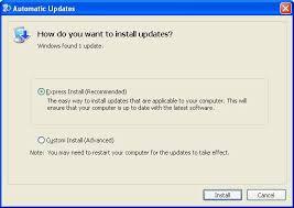 tutorial xp windows windows xp updates