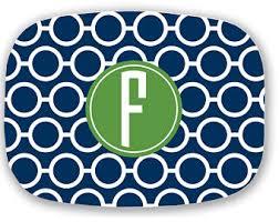 monogrammed serving platter monogram platter etsy