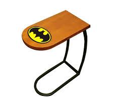 Table Under Sofa by Amazon Com New Oak Finish Tv Tray With A Batman Theme Tray