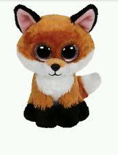 ty beanie boos slick fox ebay
