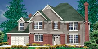 Traditional House Plans Mascord House Plan 2278 The Bienville