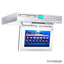 Under Cabinet Radio Tv Kitchen Venturer Klv39092 9 Inch Under Cabinet Kitchen Tv With Built In