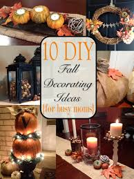 two it yourself fall home tour 10 diy fall decorating ideas for