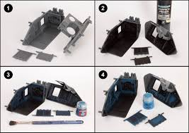 tutorial how to paint ultramarine vehicles tale of painters