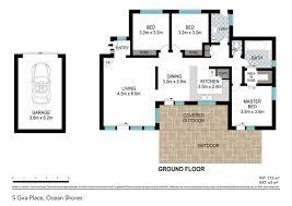 ocean shores floor plan 5 gira place ocean shores 2483 new south wales ocean shores