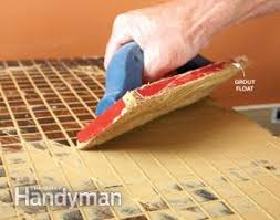 Tiled Vanity Tops How To Install A Glass Tile Vanity Top Family Handyman
