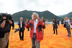 Floating Piers by The Floating Piers Of Northern Italy