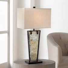 zion tapered slate table lamp by franklin iron works 5y313