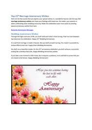 marriage celebration quotes top 25th marriage anniversary quotes by angela rexario issuu
