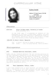 german resume template sample resume for students in high