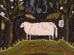 Wool Hand Hooked Rugs 713 Best Rug Hooking Images On Pinterest Penny Rugs Rug Hooking