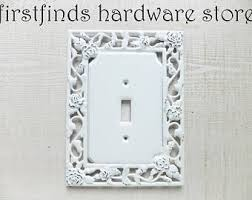 Shabby Chic Light Switch Covers by Painted Lite Switch Etsy