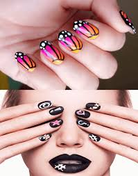easy nail art designs for short nails to do at home step by