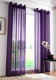 Purple Living Room by Plush Dark Purple Curtains Designs Decofurnish