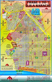 map of karachi karachi maps paras estates
