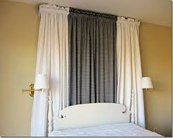 how to make canopy bed how to make canopy bed curtains the easy way inmyownstyle