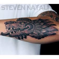 custom quetzalcoatl by steven natali super genius tattoo seattle