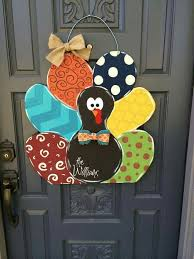 turkey door hanger fall wooden door hangers handballtunisie org
