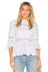 pleated blouse endless pleated blouse in white revolve