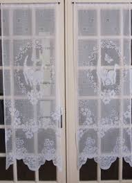 french door window coverings cat lace curtains white french door curtains white lace curtains