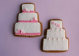 wedding cake cookies pink wedding cake cookies part of a set i made for my sist flickr