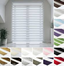 Window Roller Blinds Made To Measure Premium Day And Night Cassette Zebra Vision Window