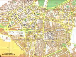 Damascus Syria Map Map Of Damascus