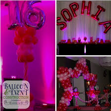 Pink And Black Sweet 16 Decorations Sophia U0027s Sweet 16