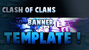 clash of clans wallpaper free free fr clash of clans template banner youtube
