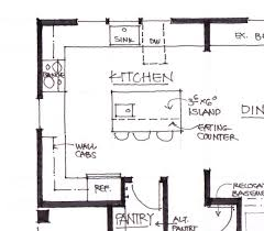 kitchen floor plans with islands kitchen floor plans with dimensions great small design tikspor