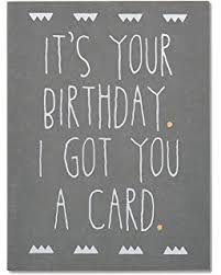 amazon com hallmark shoebox funny birthday greeting card 4 out