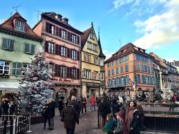 festive old town of colmar france