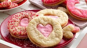 heart shaped cookies heart sandwich cookies recipe pillsbury