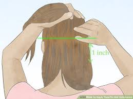 in hair extensions how to apply in hair extensions 11 steps with pictures