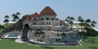 mansions designs sandstone mansion minecraft house design