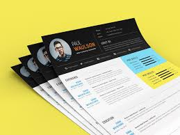 free modern resume template free modern resume template for web graphic designer psd file