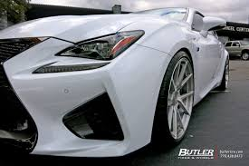lexus rc f hre wheels lexus rcf with 20in rennen m 55 monoblock wheels exclusively from