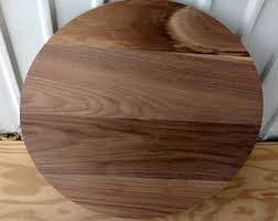 Diy Round Wood Table Top by Round Wood Table Etsy