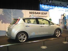 nissan canada avenue road nissan leaf electric car relegates gas cars to the garage nissan says