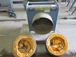 blue wizard dust extractor auction 0332 7002896 graysonline