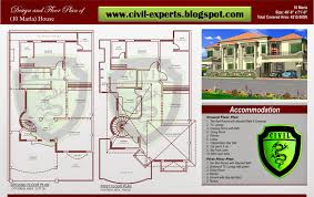 civil experts 10 marla house plans