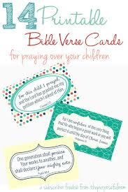 14 bible verses every mom can pray over her children free
