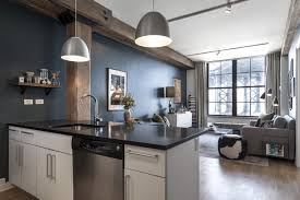 modern brooklyn warehouse renovation studio ideas small spaces kitchen decor brooklyn apartment warehouse renovation modern