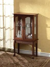 Kitchen Curio Cabinet Wood Curio Glass Cabinet For Kitchen And Home Dfs Pinterest