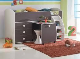 lit mezzanine enfant avec bureau lit superpos original pour fille parquet chambre fille adoptez le
