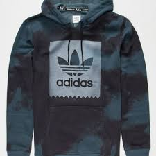 adidas d2d aop mens hoodie medium blue in from tilly u0027s things i